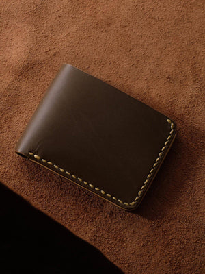 Voyej Vessel VII Dark Brown Short Wallet - MORE by Morello - Indonesia