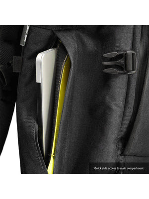 Life Behind Bars The Peloton Rolltop Backpack 30-42L Black - MORE by Morello Indonesia
