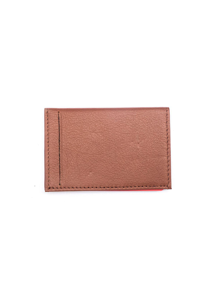C-Secure Italian Leather RFID Slim Card Holder Bruciato - MORE by Morello - Indonesia