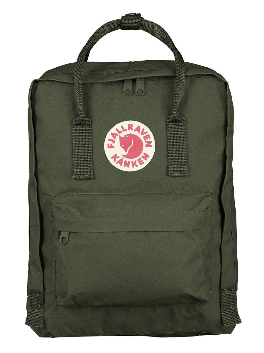 Fjallraven Kanken Classic Backpack Forest Green - MORE by Morello - Indonesia