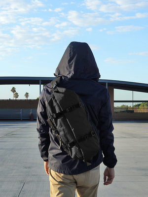 CODEOFBELL X-PAK Sling Pack Large Pitch Black - MORE by Morello - Indonesia