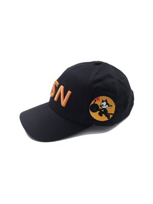 US Comp4ny USN Tomcatters Cap Black - MORE by Morello - Indonesia