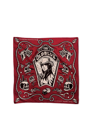 Oldblue Co. Bandana The Wild East Red - MORE by Morello Indonesia