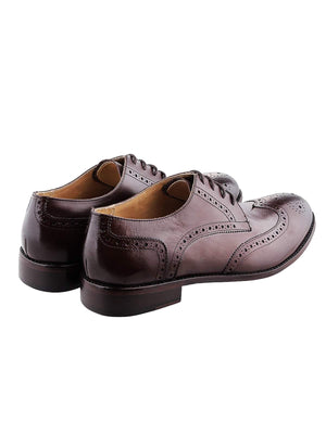 Heimdall Loki Wingtip Derby Brown - MORE by Morello - Indonesia