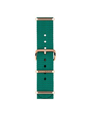 Briston Nato Strap Mint Rose Gold 18mm - MORE by Morello Indonesia