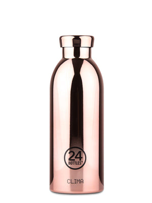 24Bottles Clima Bottle Rose Gold Chrome 500ml - MORE by Morello Indonesia
