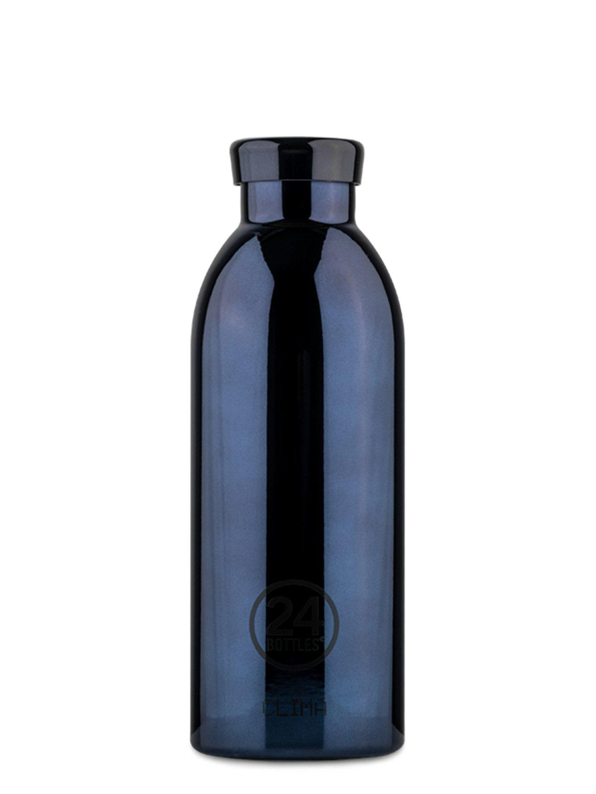 24Bottles Clima Bottle Black Radiance Chrome 500ml - MORE by Morello Indonesia