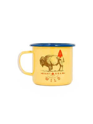 United by Blue Right To Roam Enamel 12 oz Mug - MORE by Morello Indonesia