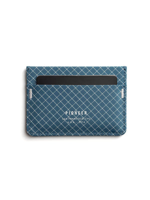 Pioneer Molecule Card Holder 10XD Ripstop Blue - MORE by Morello Indonesia