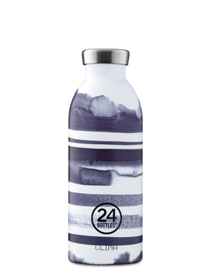 24Bottles Clima Bottle Stripes 500ml - MORE by Morello - Indonesia