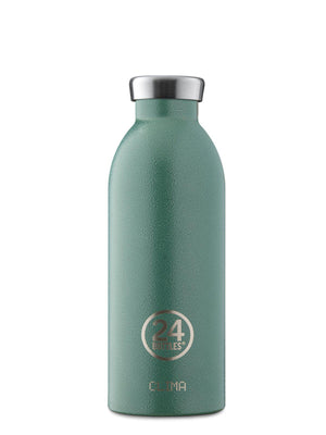 24Bottles Clima Bottle Rustic Moss Green 500ml - MORE by Morello - Indonesia
