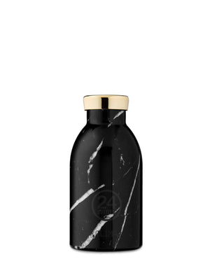 24Bottles Clima Bottle Black Marble 330ml - MORE by Morello - Indonesia