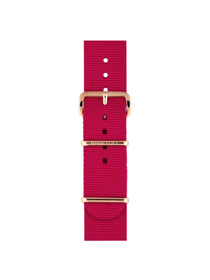 Briston Nato Strap Raspberry Rose Gold 20mm - MORE by Morello Indonesia