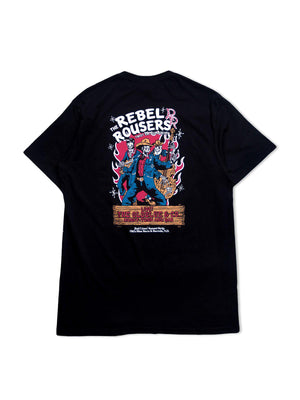 Oldblue Co. Tee The Rebel Rousers Black - MORE by Morello Indonesia