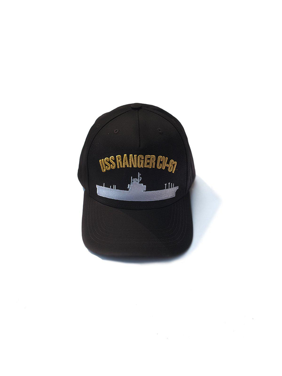 US Comp4ny USS Ranger Black Cap - MORE by Morello Indonesia