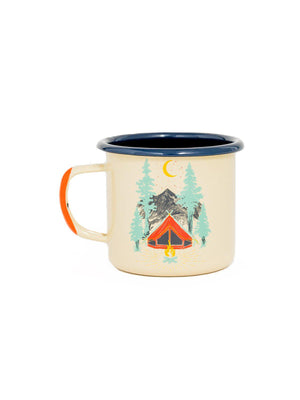United by Blue Tent Dreams Enamel 12 oz Mug