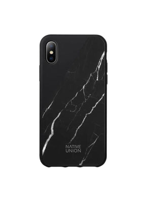 Native Union Clic Marble Case iPhone X Black