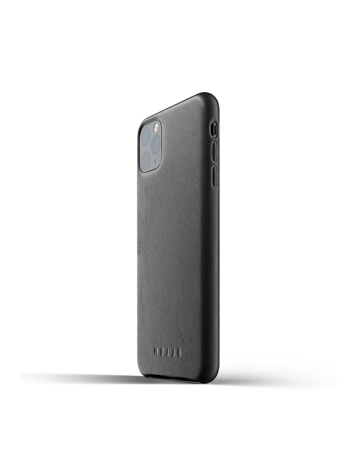 Mujjo Full Leather Case for iPhone 11 Pro Max Black - MORE by Morello Indonesia
