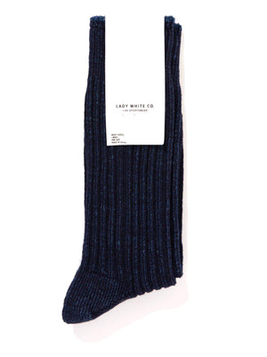 Lady White Co. Athletic Socks Dark Indigo - MORE by Morello Indonesia