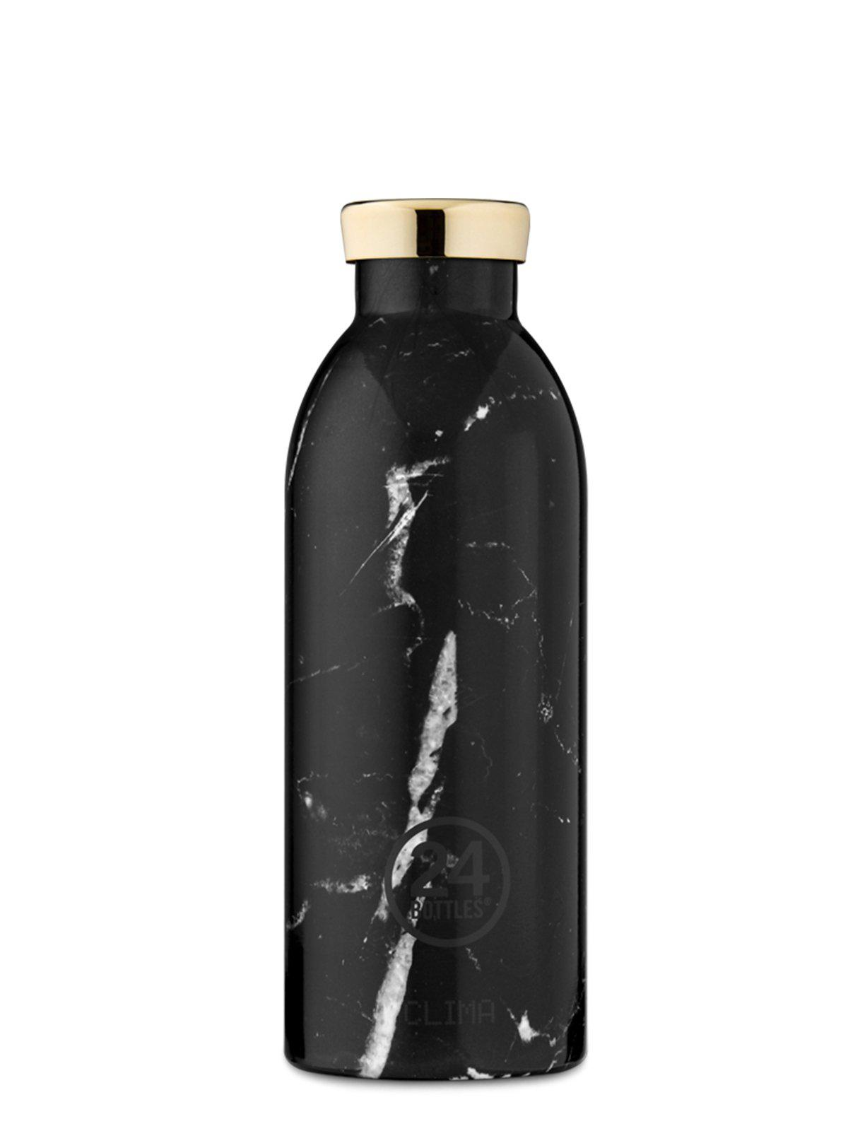 24Bottles Clima Bottle Black Marble 500ml - MORE by Morello Indonesia