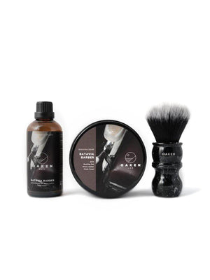Oaken Lab Starter Set Gift Box Batavia Barber - MORE by Morello Indonesia