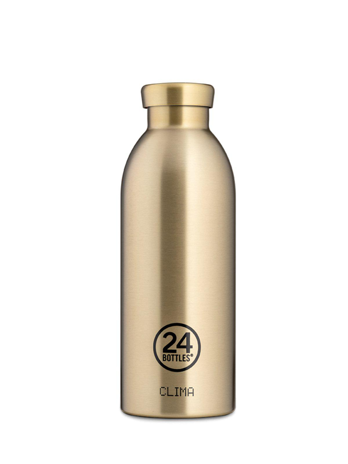 24Bottles Clima Bottle Prosecco Gold 500ml - MORE by Morello Indonesia