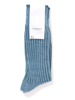 Lady White Co. Athletic Socks Light Blue - MORE by Morello Indonesia