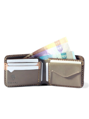 Voyej Vessel VI Grey Short Wallet