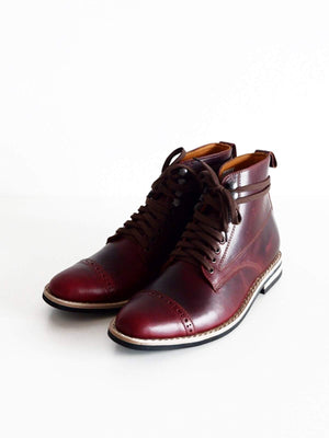 Chevalier Captoe Boots Color #8 Chromexcel