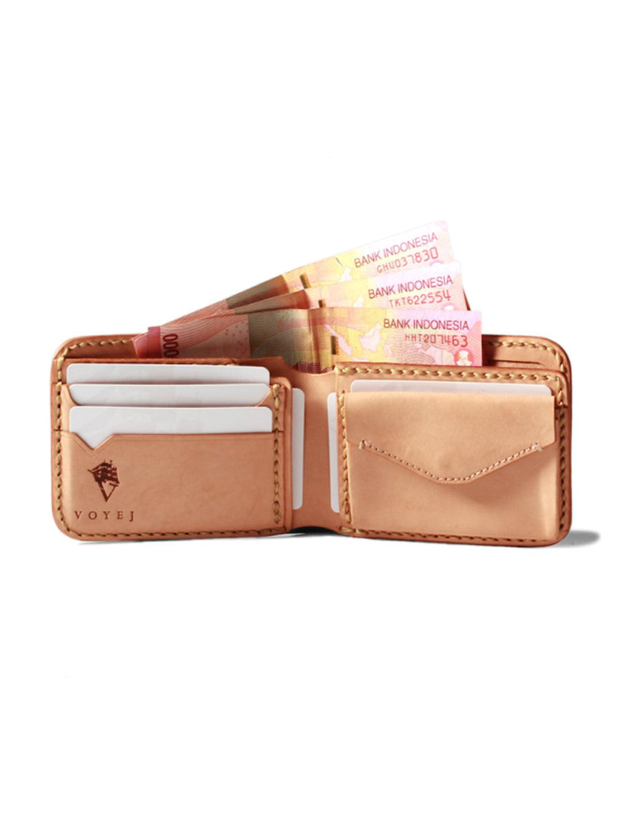 Voyej Vessel VI Americana Natural Short Wallet