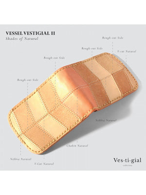 Voyej Vessel II Vestigial Shades Of Natural Short Wallet - MORE by Morello - Indonesia