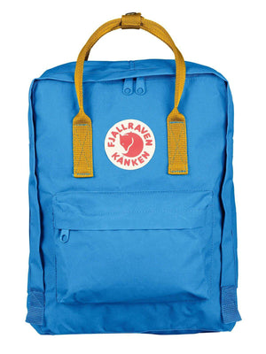 Fjallraven Kanken Classic Backpack UN Blue Warm Yellow - MORE by Morello Indonesia