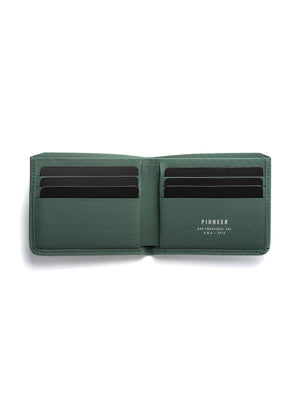 Pioneer Division Billfold Wallet 3PN Evergreen - MORE by Morello Indonesia