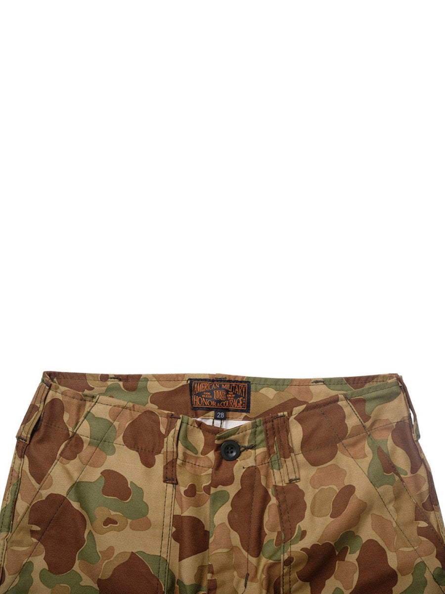 US Comp4ny Fatigue Trousers Frogskin Camouflage