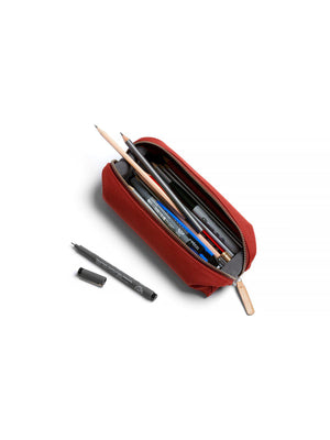 Bellroy Pencil Case Plus Woven Red Ochre - MORE by Morello Indonesia