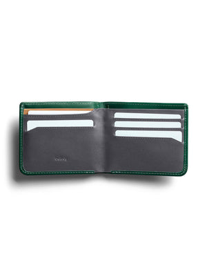 Bellroy Hide and Seek Wallet Racing Green RFID - MORE by Morello Indonesia