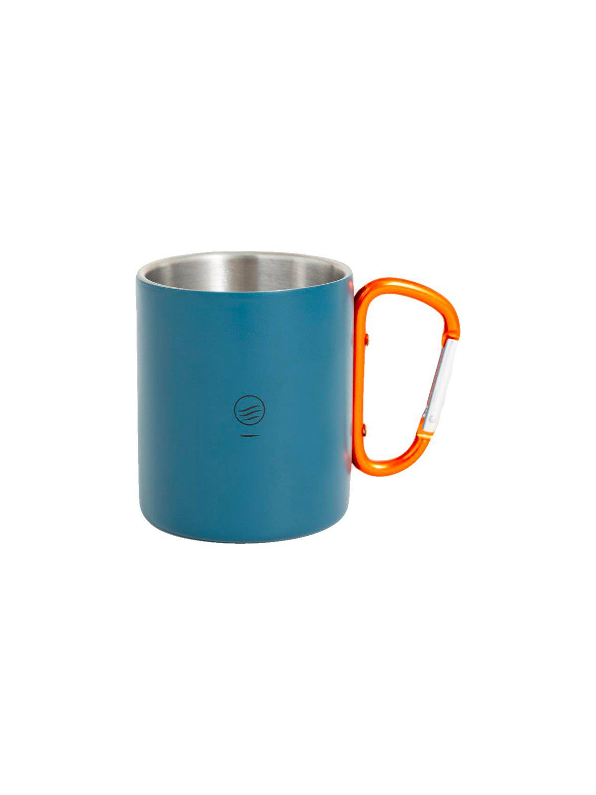 United by Blue 10oz Stainless Steel Carabiner Cup Passing Through - MORE by Morello Indonesia