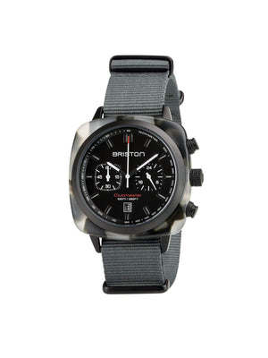 Briston Clubmaster Sport Acetate Chronograph Alpine Hunter 42mm-Watches-Briston-MORE by Morello