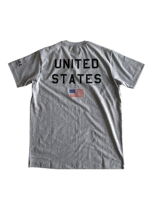 US Comp4ny NASA x MORE by Morello Tees Misty Grey - MORE by Morello Indonesia