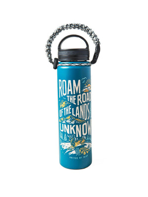 United by Blue 22oz Lands Unknown 22oz Insulated Steel Water Bottle Green - MORE by Morello Indonesia