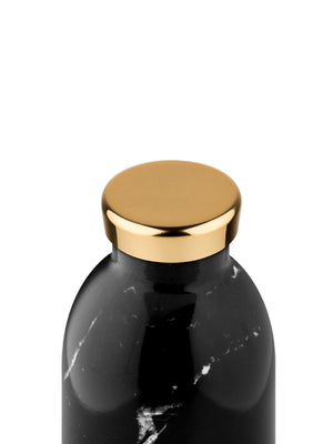 24Bottles Clima Bottle Black Marble 500ml - MORE by Morello - Indonesia