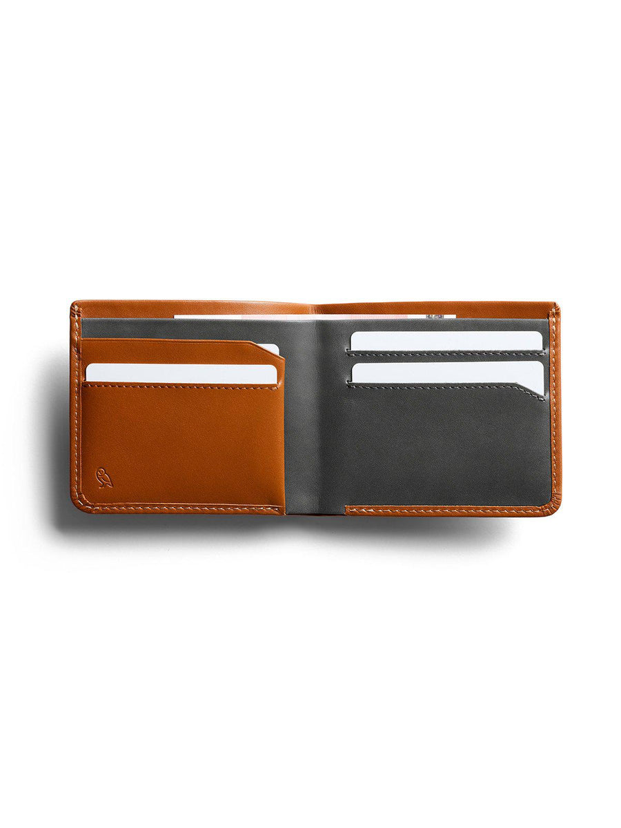 Bellroy The Square Wallet Caramel - MORE by Morello Indonesia