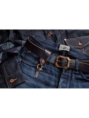 Oldblue Co. Horseshoe Keychain Navy Chromexcel - MORE by Morello Indonesia