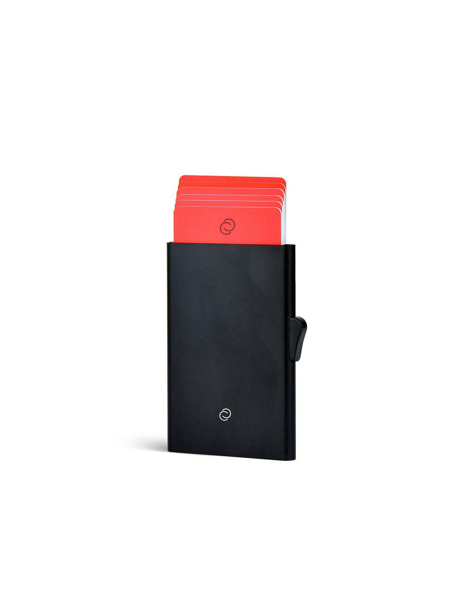 C-Secure Aluminium RFID Cardholder Black - MORE by Morello - Indonesia