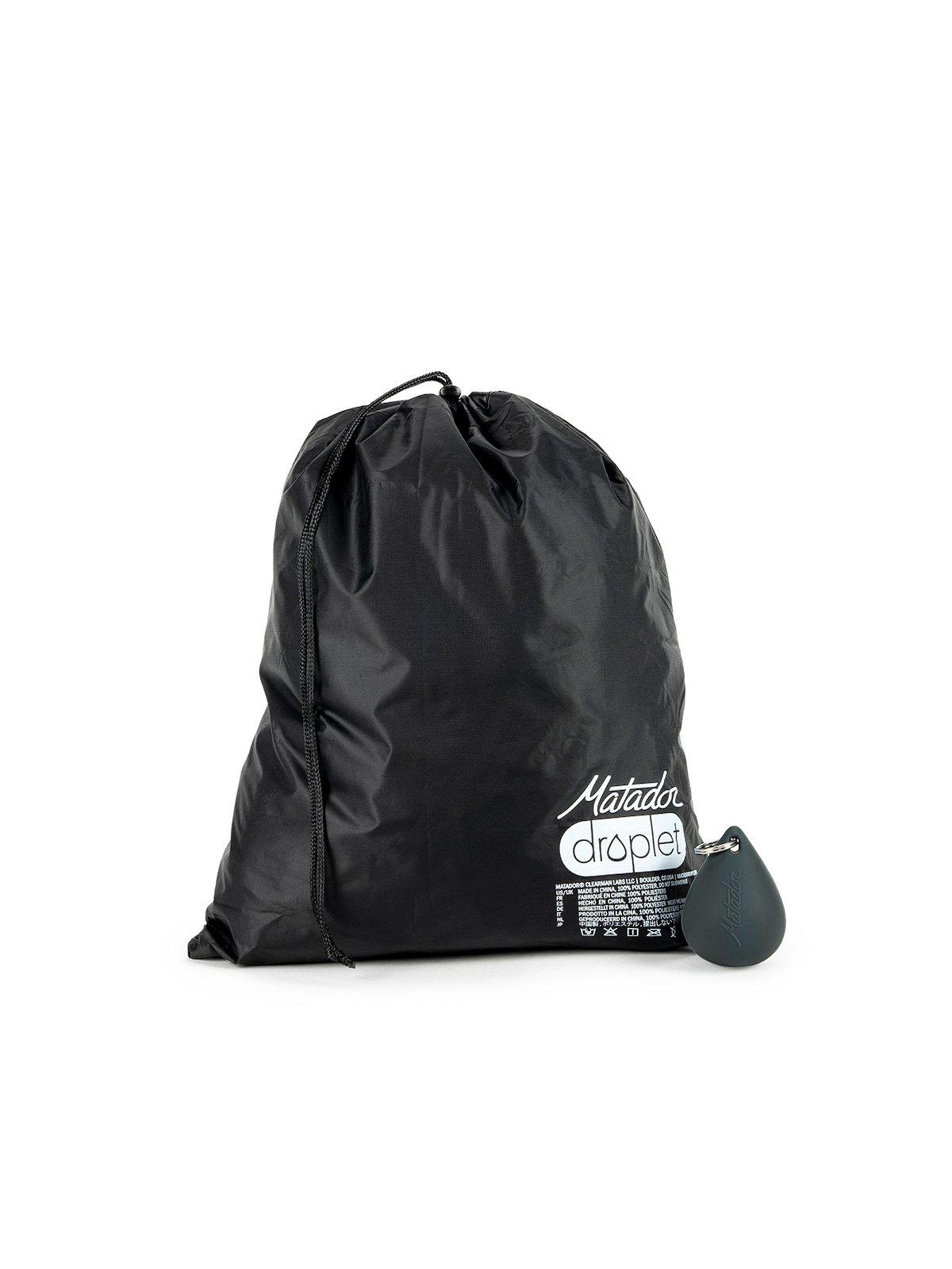 Matador Droplet Mini Dry / Wet Bag Black 3L - MORE by Morello Indonesia