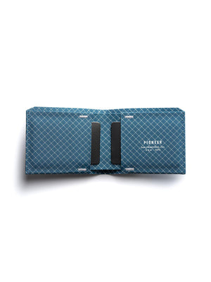Pioneer The Flyfold Wallet 10XD Ripstop Blue - MORE by Morello Indonesia