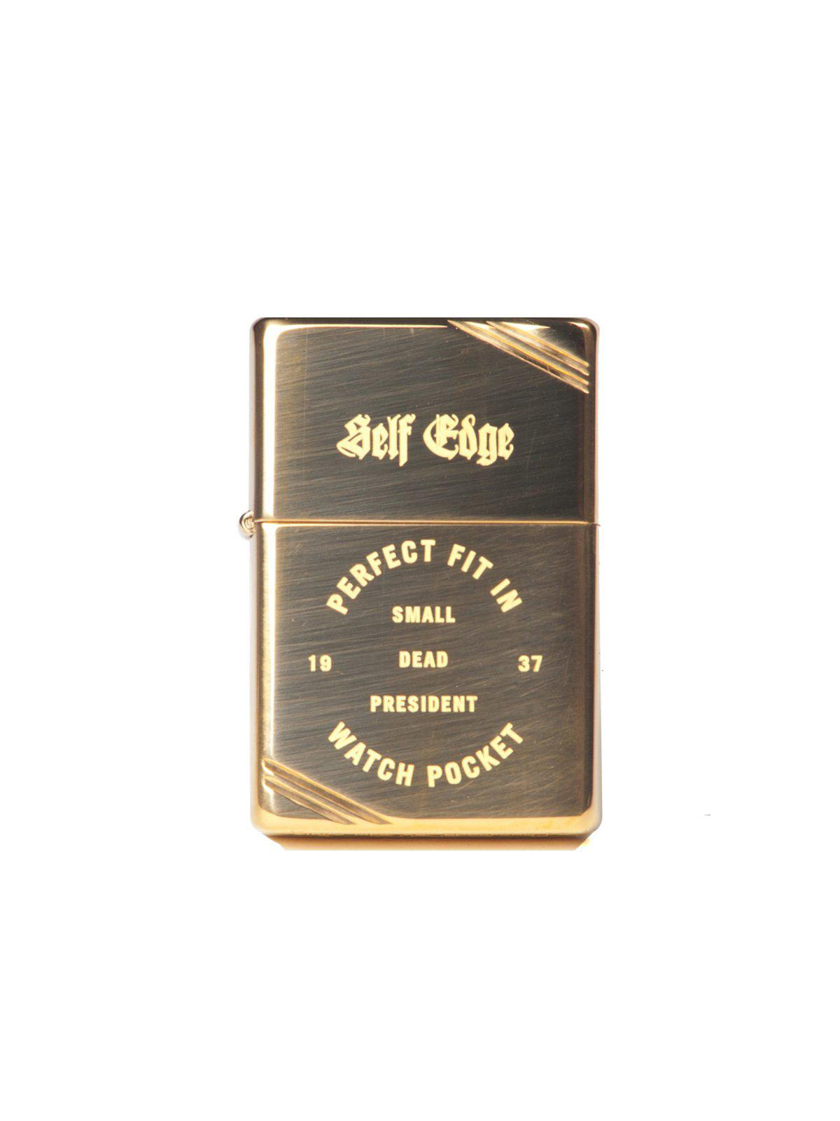 Self Edge Zippo Vintage 1937 Repro Lighter Perfect Fit - MORE by Morello Indonesia