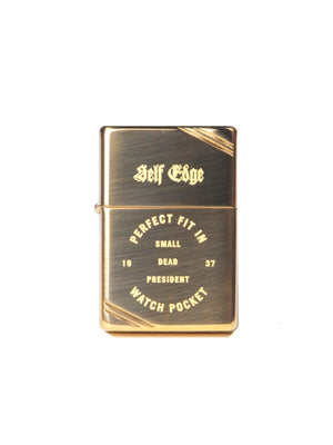 Self Edge Zippo Vintage 1937 Repro Lighter Perfect Fit - MORE by Morello - Indonesia