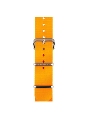 Briston Nato Strap Mango Polished Steel 20mm - MORE by Morello Indonesia