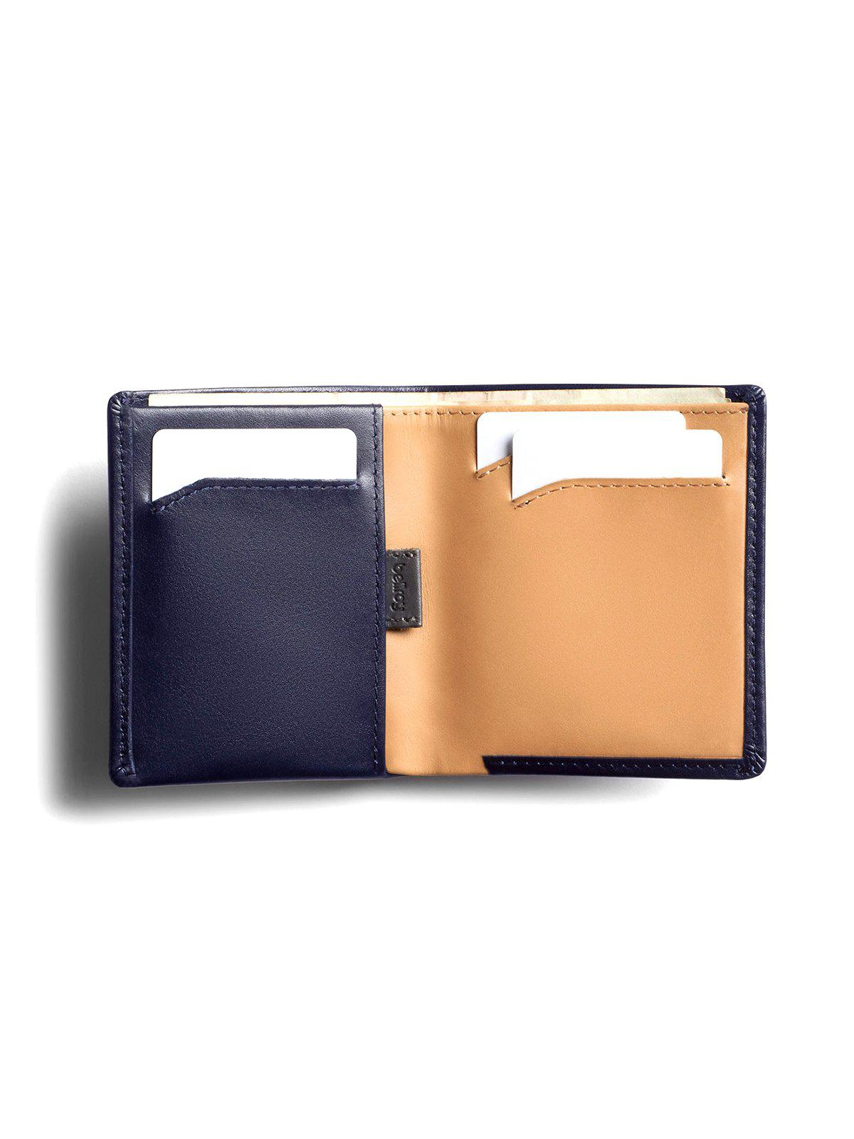 Bellroy Note Sleeve Wallet Navy RFID - MORE by Morello Indonesia